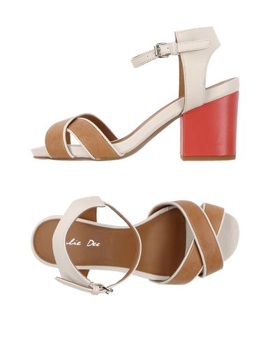 Фото - Женские сандали J|D JULIE DEE коричневого цвета