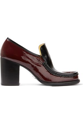 ACNE STUDIOS Kenia two-tone patent-leather pumps