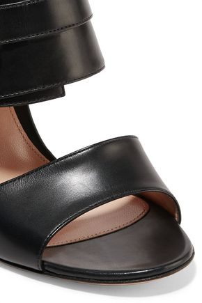 GIANVITO ROSSI Buckled leather sandals