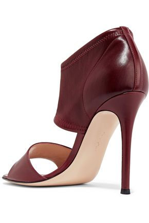 GIANVITO ROSSI Cutout leather sandals