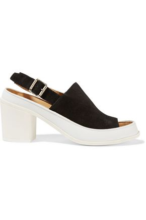 MM6 by MAISON MARGIELA Suede and leather sandals