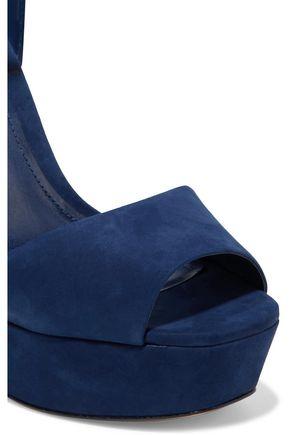 SCHUTZ Amatista suede platform sandals