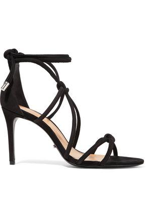 SCHUTZ Nadira lace-up suede sandals
