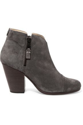 RAG & BONE Margot suede ankle boots