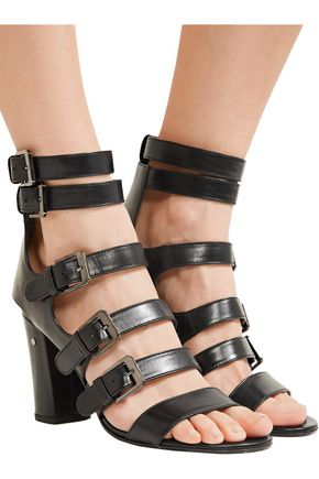 LAURENCE DACADE Dana buckled leather sandals