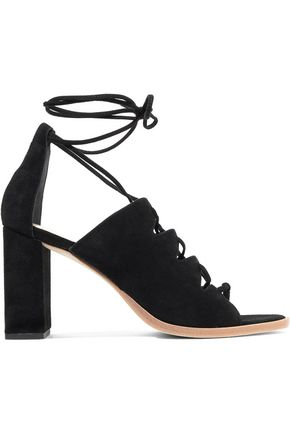 LOEFFLER RANDALL Lace-up suede sandals