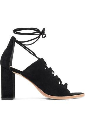 LOEFFLER RANDALL Lace-up suede sandals