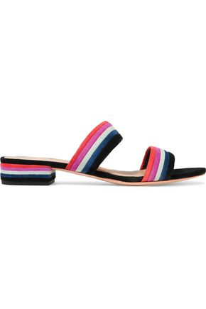 LOEFFLER RANDALL Suede sandals