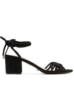 SCHUTZ Marlie braided suede sandals