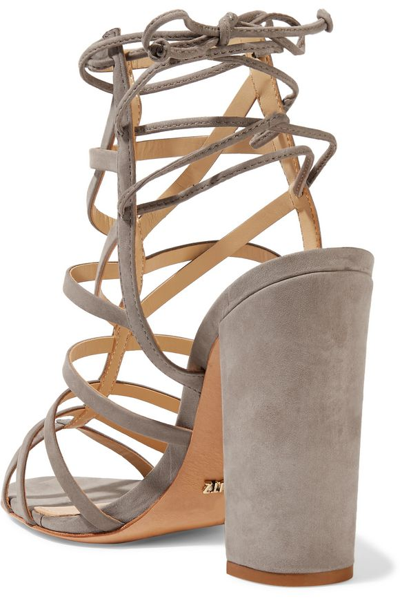 Loriana cutout suede wedge sandals   SCHUTZ   Sale up to 70% off   THE  OUTNET