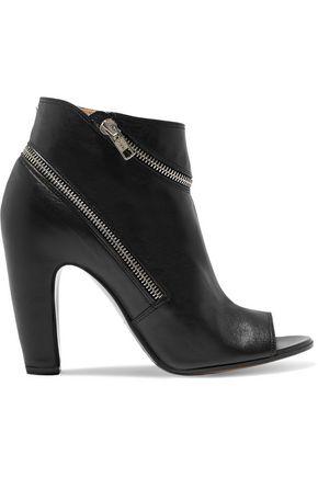 MAISON MARGIELA Zip-embellished leather ankle boots