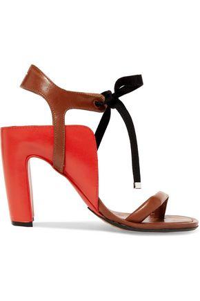 MAISON MARGIELA Two-tone leather sandals
