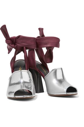 3.1 PHILLIP LIM Kyoto metallic leather sandals