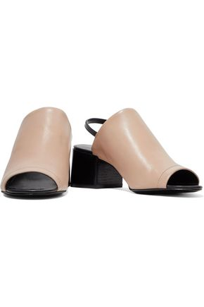 3.1 PHILLIP LIM Cube two-tone leather sandals