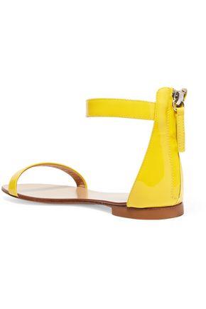GIUSEPPE ZANOTTI DESIGN Patent-leather sandals