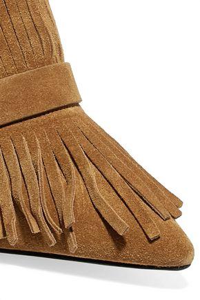 3.1 PHILLIP LIM Kiddie fringed suede mules