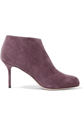 SERGIO ROSSI Madame suede ankle boots