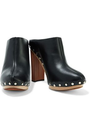PROENZA SCHOULER Studded leather clogs