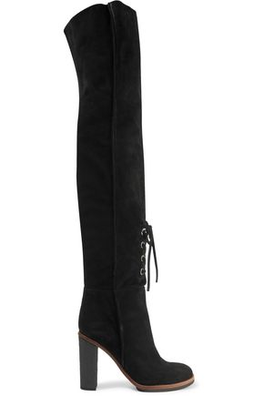 PROENZA SCHOULER Suede over-the-knee boots