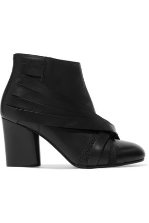 MAISON MARGIELA Leather and suede ankle boots