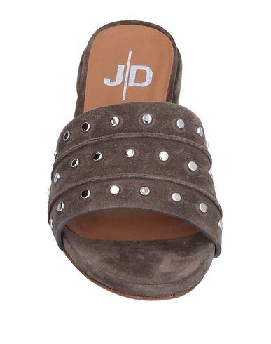 Фото 2 - Женские сандали J|D JULIE DEE серого цвета
