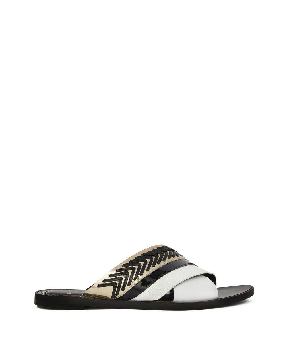 14c89c8a568 Lanvin CROSSOVER WOVEN SANDAL, Sandals Women   Lanvin Online Store