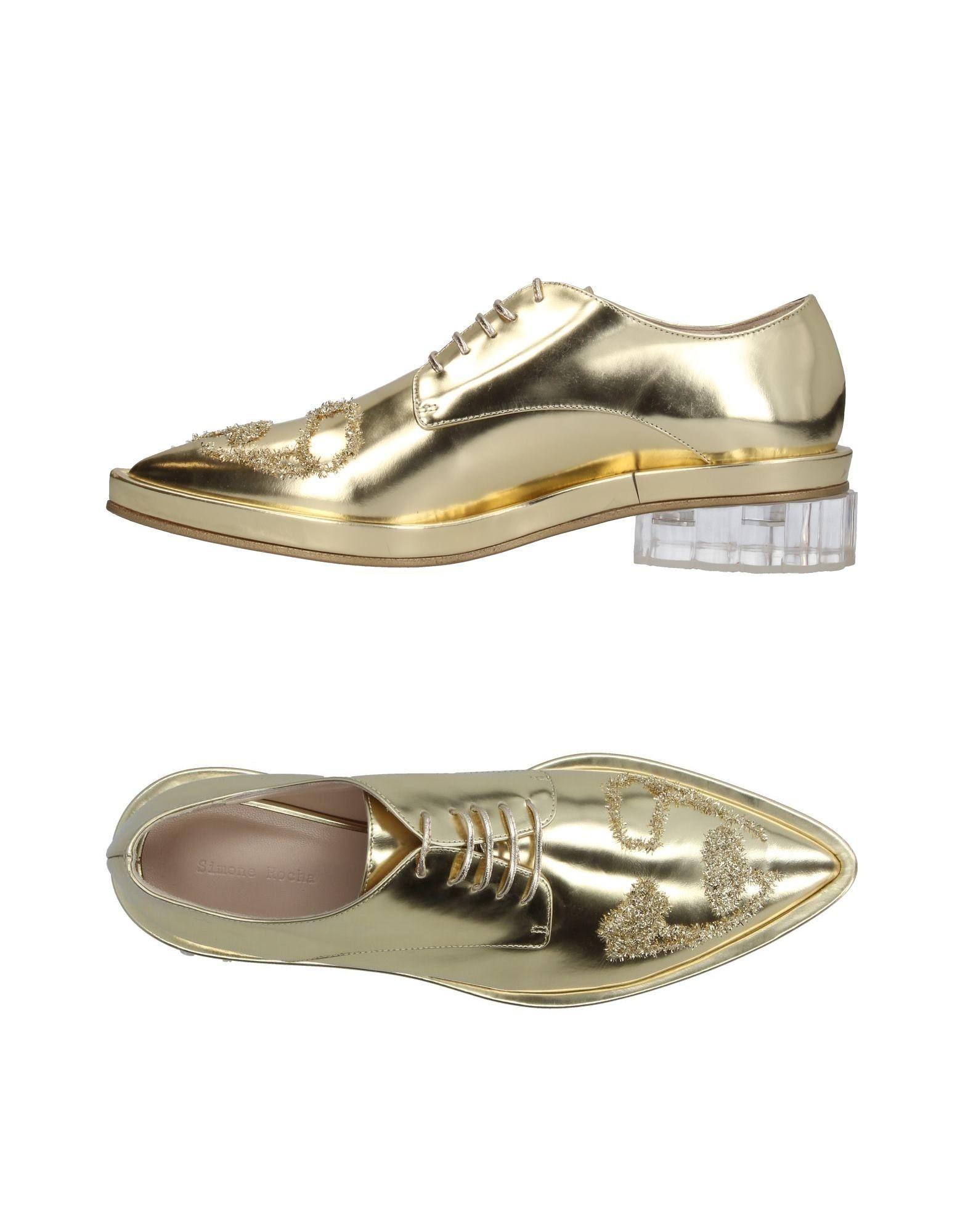 SIMONE ROCHA Обувь на шнурках цены онлайн