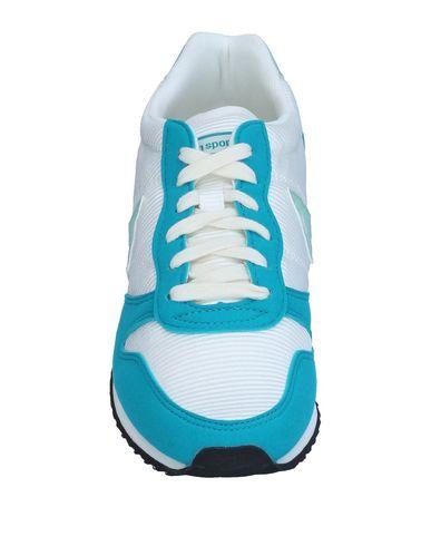 Фото 2 - Низкие кеды и кроссовки бирюзового цвета