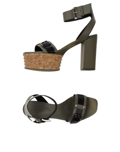 Фото - Женские сандали VIC MATIĒ цвет зеленый-милитари