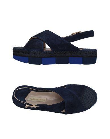 Фото - Женские сандали PALOMA BARCELÓ темно-синего цвета
