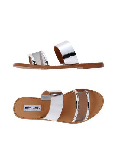 Купить Женские сандали STEVE MADDEN серебристого цвета