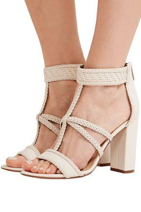 ... SAM EDELMAN Yordana woven leather sandals ...