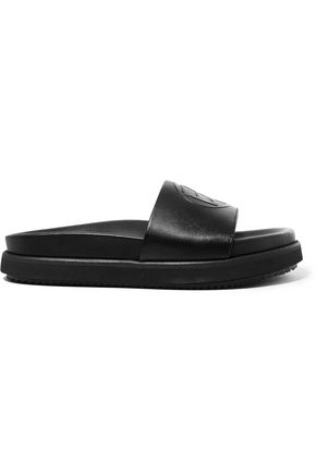 EYTYS Hacienda embossed leather slides