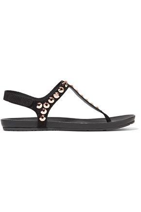 PEDRO GARCÍA Judith crystal-embellished suede sandals