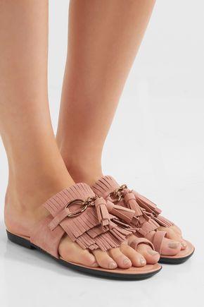 Tod's Suede Sandals cmdjcs99R