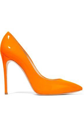 CASADEI Neon patent-leather pumps