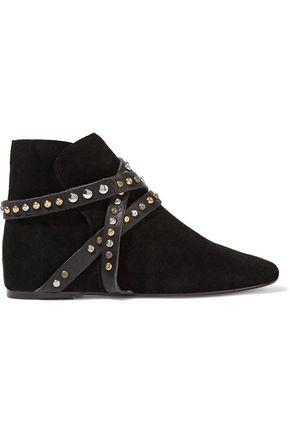 ISABEL MARANT ÉTOILE Ruben embellished suede boots