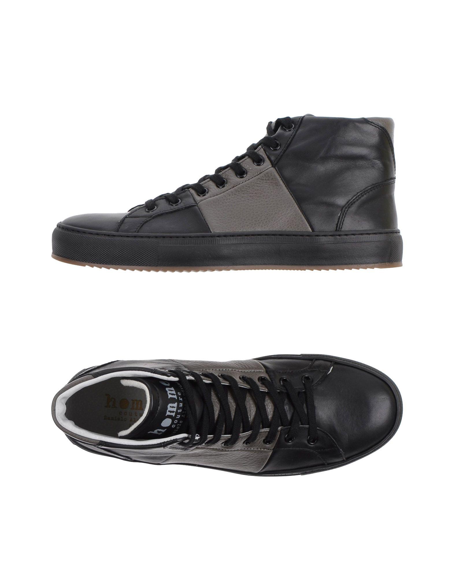 DANIELE ALESSANDRINI HOMME Высокие кеды и кроссовки dior homme высокие кеды и кроссовки