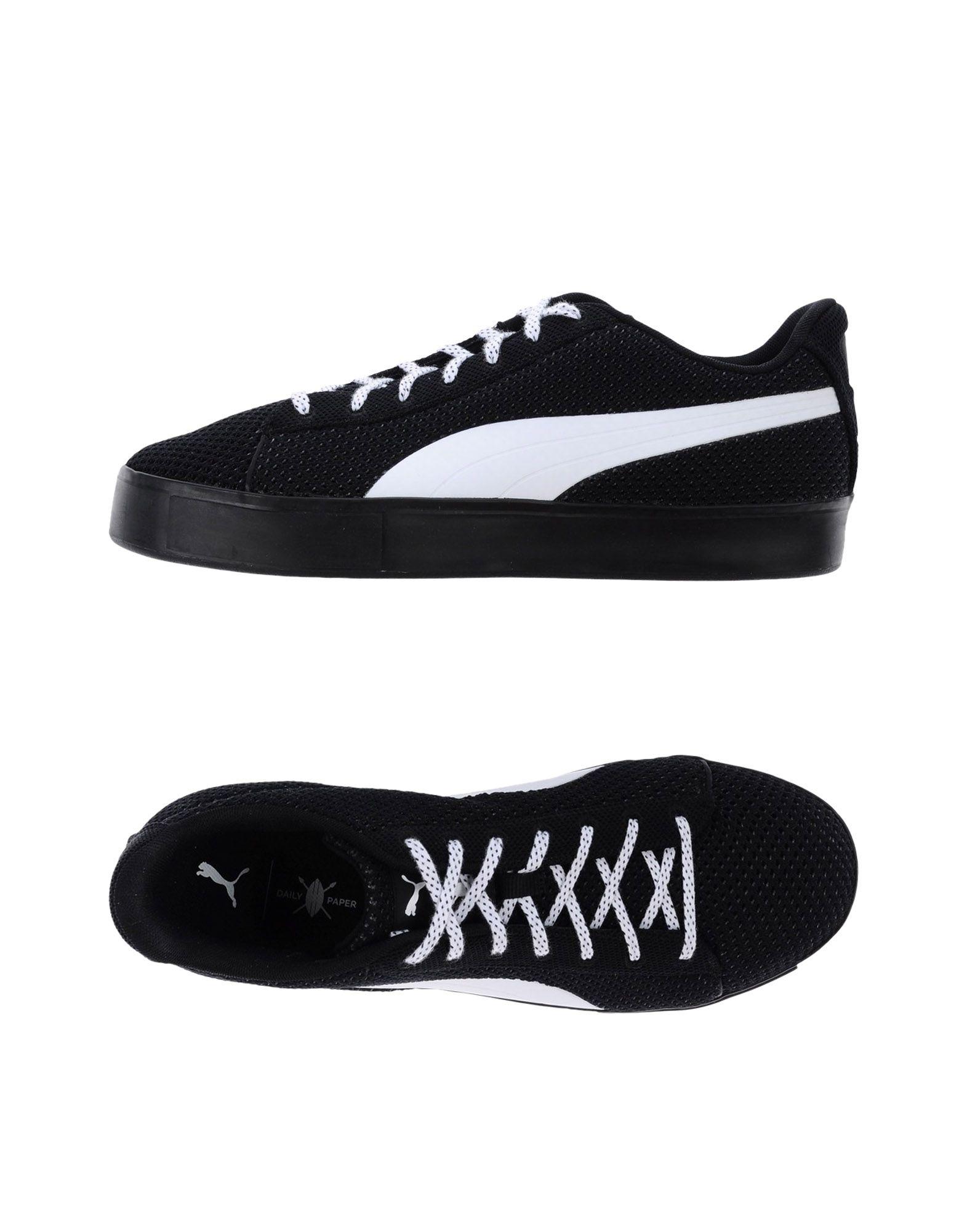《期間限定セール開催中!》PUMA X DAILY PAPER メンズ スニーカー&テニスシューズ(ローカット) ブラック 9 紡績繊維