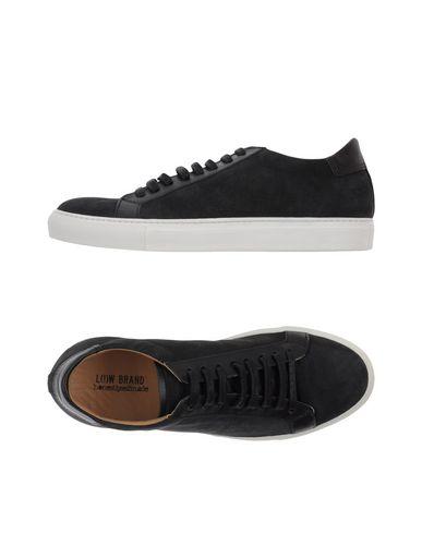 Фото - Низкие кеды и кроссовки от LOW BRAND черного цвета