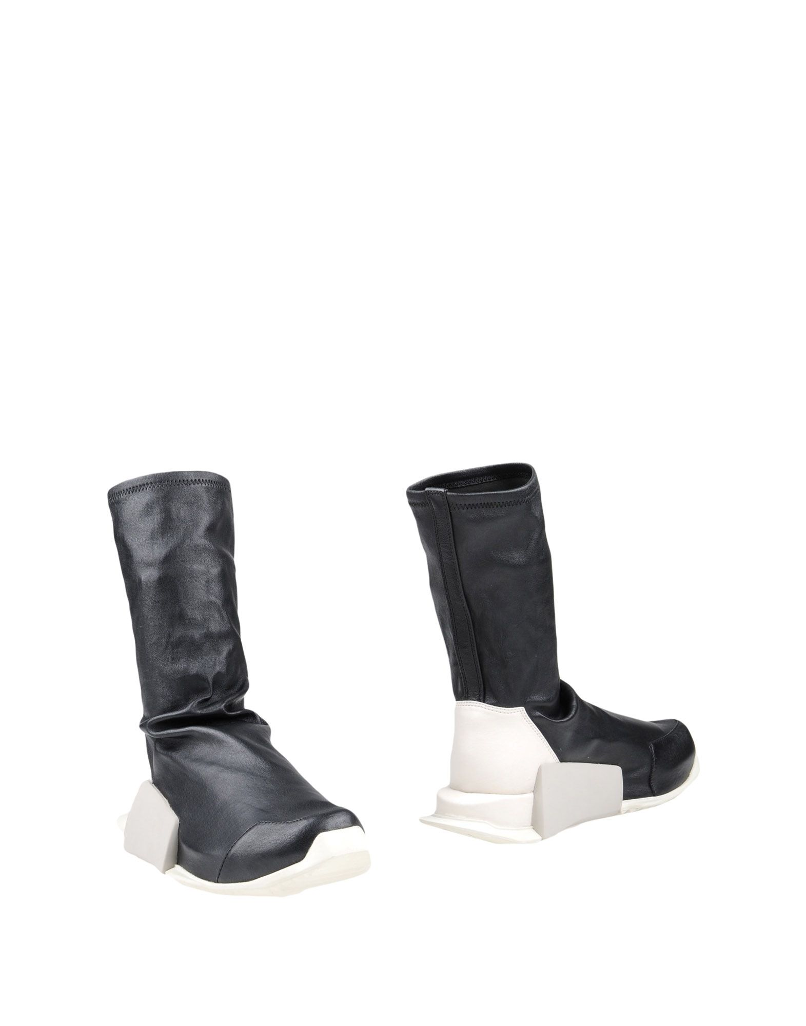 цена RICK OWENS x ADIDAS Полусапоги и высокие ботинки онлайн в 2017 году