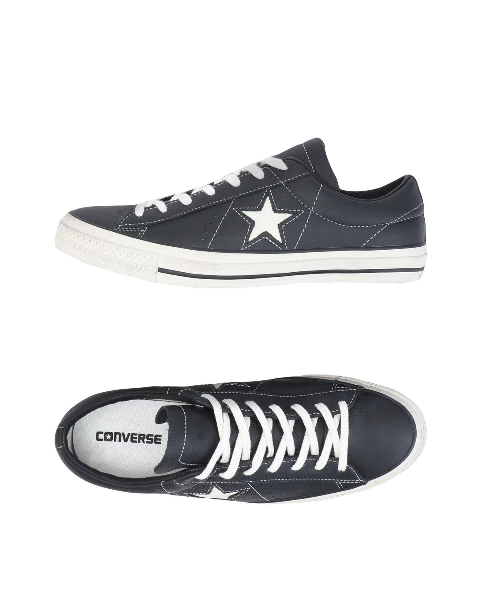 CONVERSE ALL STAR Низкие кеды и кроссовки