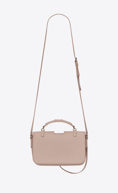 SAINT LAURENT Charlotte Donna Borsa CHARLOTTE Medium in pelle rosa b_V4