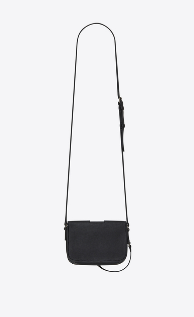 SAINT LAURENT Charlotte D CHARLOTTE Toy bag in black leather b_V4