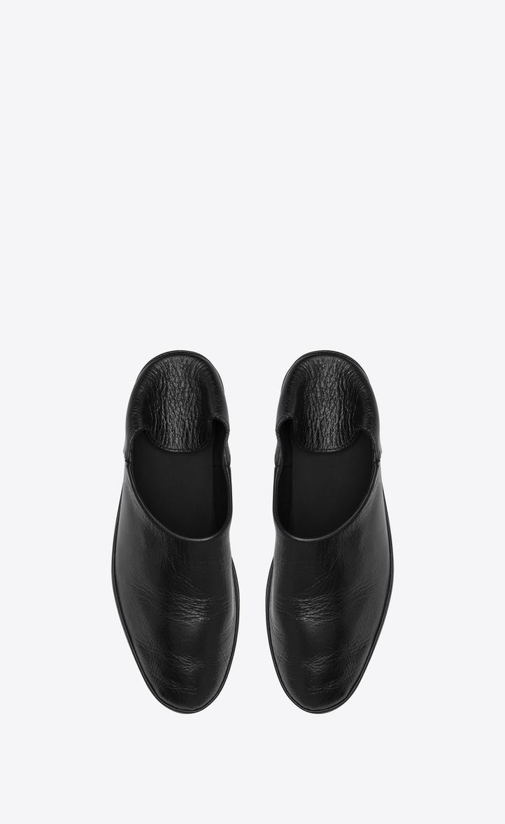 Fez convertible slipper - Black Saint Laurent d14sk636