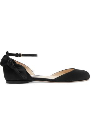 JIMMY CHOO LONDON Kirsty satin flats