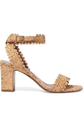 TABITHA SIMMONS Leticia studded perforated  leather sandals