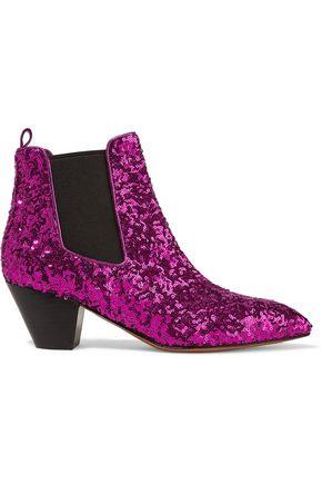 MARC JACOBS Kim leopard-print calf hair Chelsea boots