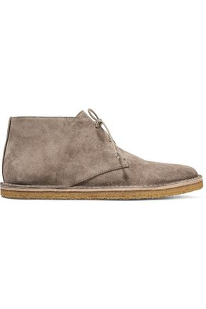 WOMAN PARSONS SUEDE DESERT BOOTS TAUPE