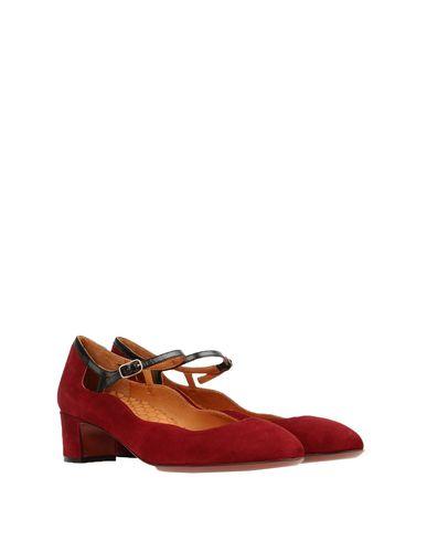 Фото 2 - Женские туфли  красно-коричневого цвета